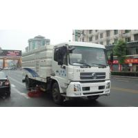 Wholesale Dongfeng 16ton Outdoor Truck Mounted Vacuum Street Sweeper 4cbm 5cbm 6000 liters 7cbm 7000 liters road sweeping truck from china suppliers