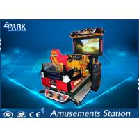 Wholesale Funny 3D Dynamic Car Arcade Racing Game Machine For Amusement Park from china suppliers