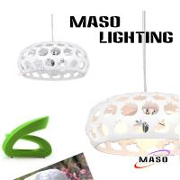Wholesale MASO Brand Apple Resin Pendant Three Lamp Holders Steel Adjust Wire from china suppliers