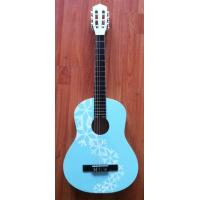 Wholesale 36inch Kids Wooden Toy Guitar With decal 3/4 Size for Beginners from china suppliers