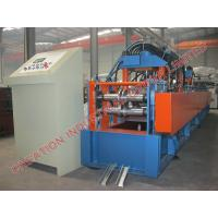 Buy cheap Automatic Steel U Profile Guardrail Shutter Door Roll Forming Machine from wholesalers