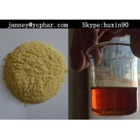 Wholesale Semi-finished Yellow Steroid  Liquid of Injectable Trenbolone Acetate for Cutting from china suppliers