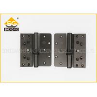 Quality Iron / Steel 3D Butt Metal Adjustable Door Hinges , 102*98*2.5mm for sale
