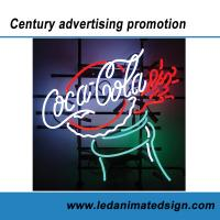 Wholesale Coca Cola advertising neon sign from china suppliers