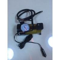 Wholesale Silver And Yellow Car Tyre Pressure Pump , Heavy Duty Power 12 Volt Air Compressor from china suppliers