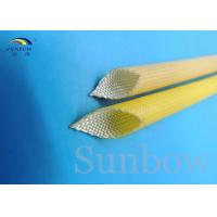 Wholesale SUNBOW RoHS 155C F Dielectric Insulation PU Fiberglass Sleeving for Motors from china suppliers