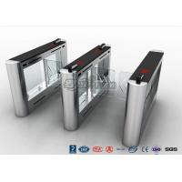 Wholesale Anti - Collision Walk Through Metal Swing Barrier Gate Bus Station Card Reader System from china suppliers