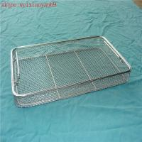 Wholesale corrosion resistance stainless steel medical disinfection basket/metal sterilization basket from china suppliers