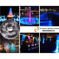 Wholesale RGB 9W / 27W Underwater LED Fountain Lights with RF Controller / LED Pond Lights from china suppliers