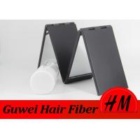 Wholesale 4 Panels Folded 360 Degree Mirror For Building Hair Fibers Black Color from china suppliers