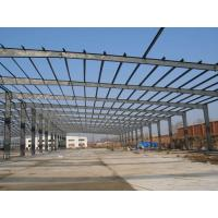 Wholesale Pre engineered commercial structural steel frame construction building steel beam braking from china suppliers