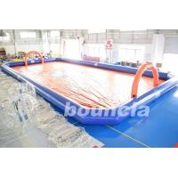 Wholesale Bubble Football Arena , Sport Arena For Inflatable Bumper Ball With PVC Tarpaulin from china suppliers