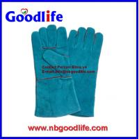 Wholesale Sales well chinese supplier Leather Welding Gloves from china suppliers