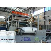 Wholesale 400KW SMS PP Non Woven Fabric Making Machine For Operation Suit 350m/Min from china suppliers