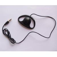 Wholesale Professional Ear Hook Earphone Meeting Monitar headphone with 3.5mm Stereo Jack for Office worker Meeting Translation from china suppliers