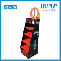 Wholesale floor standing advertising display, cardboard folding display stand, display rack and stand from china suppliers