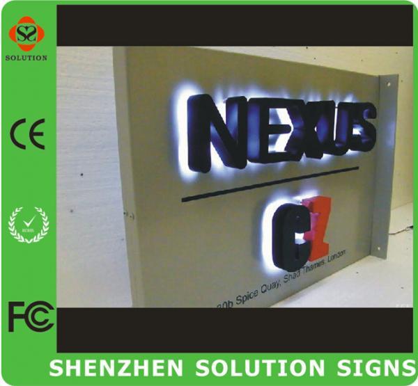 3d led sign letter backlit sign of item 102400132. Black Bedroom Furniture Sets. Home Design Ideas