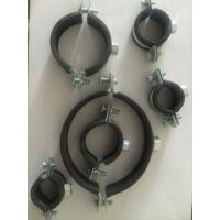 Quality Quick Clamping Pipe Hangers And Supports With 4mm Thick EPDM Rubber Lined Coated for sale