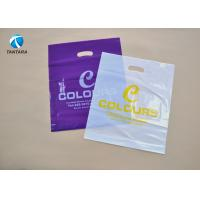 Wholesale High tensile strength suit / costume / garment packaging bags Die Cut Handle Bags from china suppliers