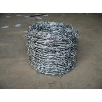 Wholesale Plastic Coated 2.0mm Galvanized Barbed Wire Double Twist For Industry from china suppliers