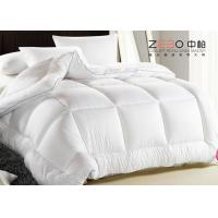Wholesale Soft Warm Hotel Bedding Duvet / Hotel Style Duvet With Washing Label from china suppliers