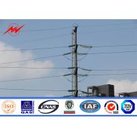 Wholesale 69kv Galvanised Steel Poles For Transmission Line Electrical Project from china suppliers