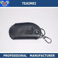 Wholesale Customs Car Logo Black Leather Key Pouch Cover For Decoration from china suppliers