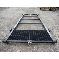 Wholesale 2MM -10MM Steel Shipping Container Skid With PVC Powder Coated For Warehouses, Transport from china suppliers