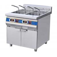 Wholesale Two-Cylinder Four Basket Deep Fryer With Cabinet  Commercial Kitchen Equipments from china suppliers