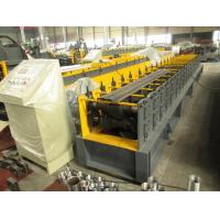 Wholesale Mitsubishi PLC Metal Roll Forming Machine For Door Frame with Pre Painted steel coil from china suppliers