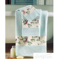 Wholesale Premium Pure Cotton Hand Wash Towels For Home / Hotel / Kitchen 30*60cm from china suppliers