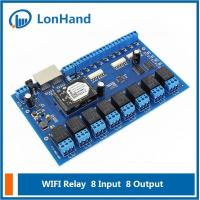 Buy cheap [USR-IO88] Wifi Network Relay with 8 Inputs and 8 Outputs,Remote Control Switch from wholesalers