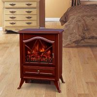 Wholesale electric fireplace heater log burning LED flame effect antique electric stove ND-18D2PL cheap space heater indoor heater from china suppliers