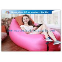 Wholesale Customized Outdoor Inflatable Sofa , Air Mattress Sleeping Bag Comfortable from china suppliers