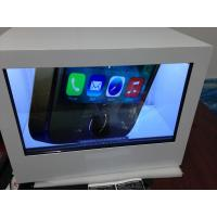 Wholesale Metal Showcase Transparent free standing digital signage USB Port from china suppliers