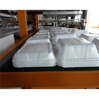 Buy cheap Fully automatic robort arm disposable absorbent styrofoam tray making machine from wholesalers