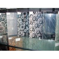 Wholesale Clear Tempered Silkscreen Printed Glass 5mm 6mm 8mm For Transom Window from china suppliers