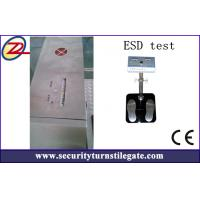 Wholesale Automatic ESD Turnstile Security Products with RS485 , TCP / IP Interface from china suppliers