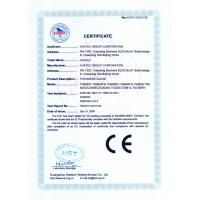 HUATEC  GROUP  CORPORATION Certifications