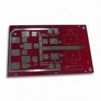 Wholesale Aluminum Base PCB with Lead-free HAL Surface Finish and 0.15mm Dielectric Thickness from china suppliers