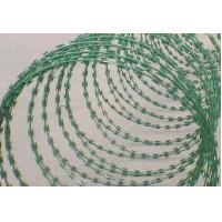 Wholesale Hot Dipped Galvanized PVC Coated Razor Barbed Wire from china suppliers