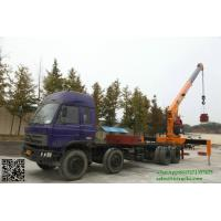 Quality Custermizing 8x4 10 ton at 2m truck mounted crane SQ10S4 high quality 250 Kn.m telescopic boom truck  App:8615271357675 for sale
