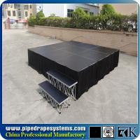 Quality Square aluminum portable smart stage for sale plywood stage platform for sale