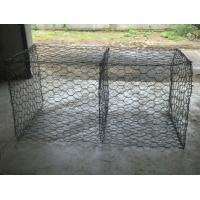 Quality Hot dipped galvanized gabion box(double twist) for sale
