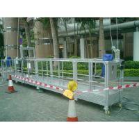 Wholesale hot galvanized suspended platform / suspended cradle/ gondola platform / susepnded scaffolding from china suppliers