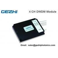 Wholesale Dense WDM Mux Demux Module box 4 Channel LC/PC Optical DWDM System from china suppliers