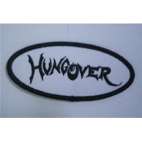 Wholesale Hung Over  Oval Name Tag Patch Iron On from china suppliers