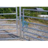 Wholesale Free Standing Powder Coated Metal Fence Panels , Plate For Animals' Prairie from china suppliers