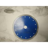 Wholesale 180mm Sintered Diamond Ceramic Tile Saw Blades , Mesh Rim Turbo Saw Blade from china suppliers