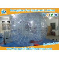Wholesale Adult Inflatable Giant Zorb Ball , Inflatable Hamster Ball For Humans from china suppliers